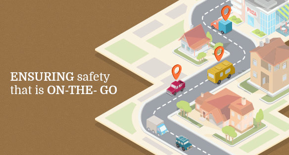 Ensuring safety that is on-the-go cover