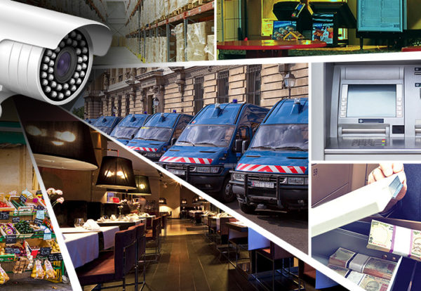 Warehouse Security CCTV Camera